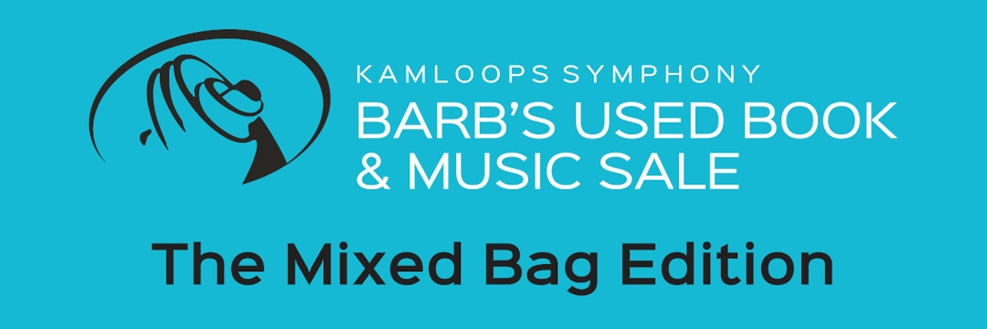 barb's used book & music sale: the mixed bag edition