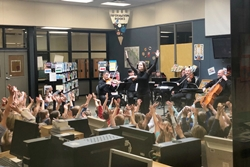 music director dina gilbert and musicians of the kamloops symphony presenting a conducting 101 works
