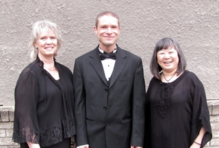 My Nightingale musicians Naomi Cloutier, Martin Kratky, and Sally Arai.